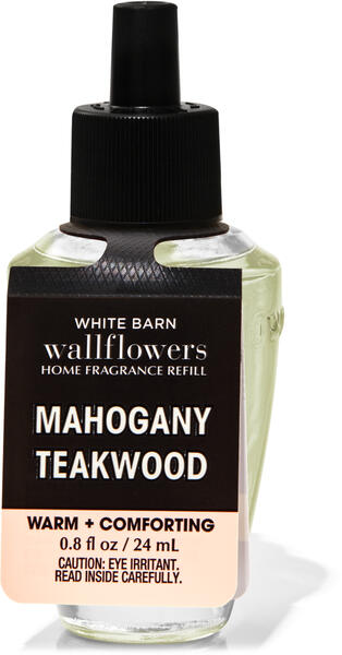 Mahogany Teakwood Wallflowers Fragrance Refill