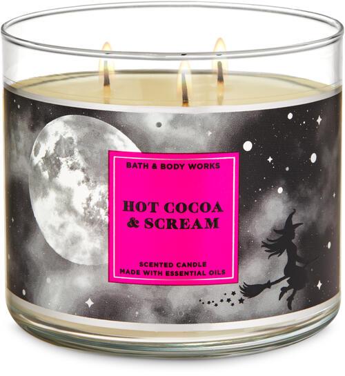 Hot Cocoa & Scream 3-Wick Candle