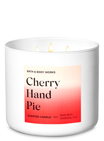 Cherry Hand Pie 3-Wick Candle - Bath And Body Works