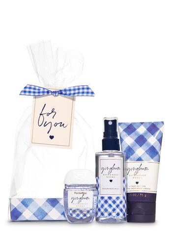 Gingham Mini Gift Set - Bath And Body Works