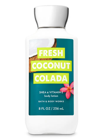 Signature Collection Fresh Coconut Colada Body Lotion - Bath And Body Works
