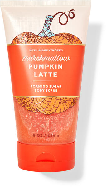 Marshmallow Pumpkin Latte Foaming Sugar Body Scrub