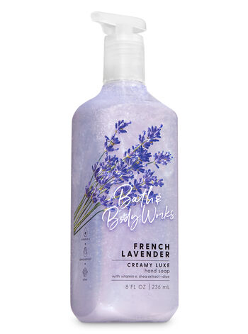 French Lavender Creamy Luxe Hand Soap - Bath And Body Works