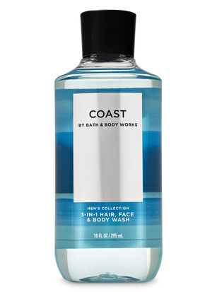 Coast 3-in-1 Hair, Face & Body Wash