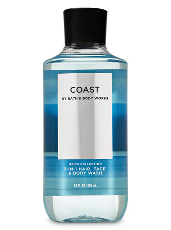 Coast 3-in-1 Hair, Face & Body Wash - Bath And Body Works