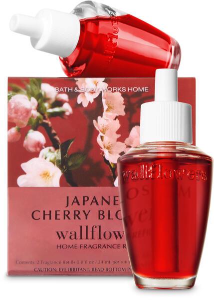 Japanese Cherry Blossom Wallflowers Refills, 2-Pack