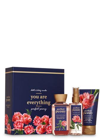 Perfect Peony Mini Gift Box Set - Bath And Body Works