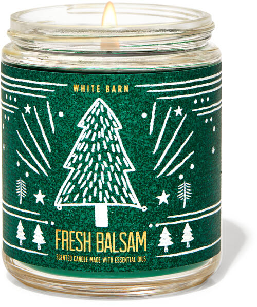 Fresh Balsam Single Wick Candle