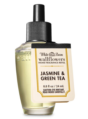 Jasmine & Green Tea Wallflowers Fragrance Refill - Bath And Body Works