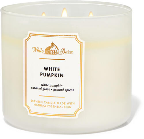 White Pumpkin 3-Wick Candle