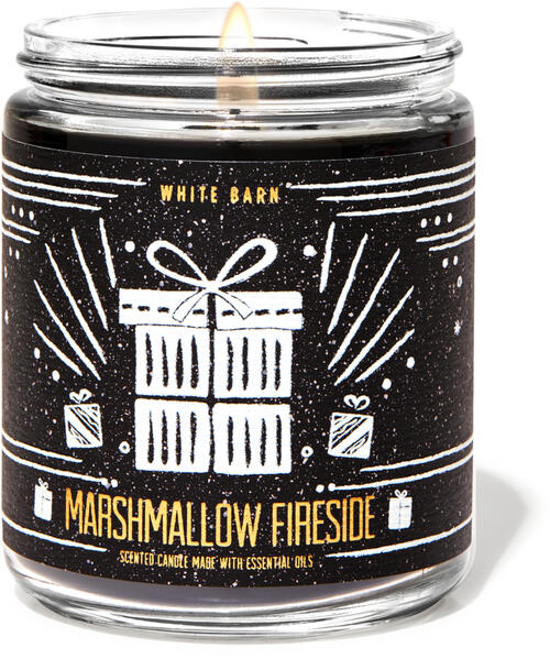 Marshmallow Fireside Single Wick Candle
