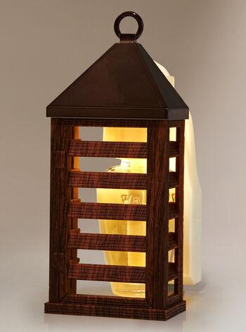 Wood Lantern Nightlight Wallflowers Fragrance Plug