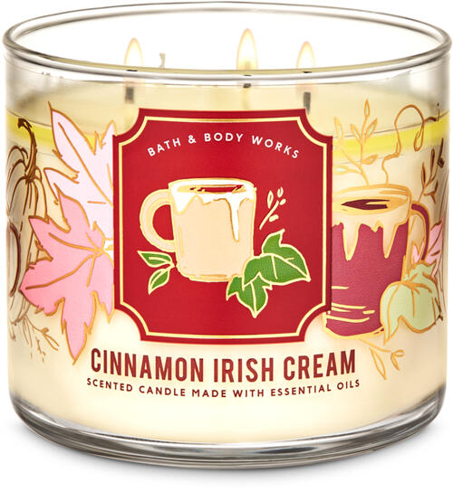 Cinnamon Irish Cream 3-Wick Candle