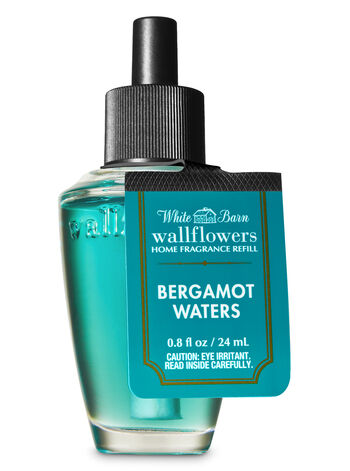 White Barn Bergamot Waters Wallflowers Fragrance Refill - Bath And Body Works
