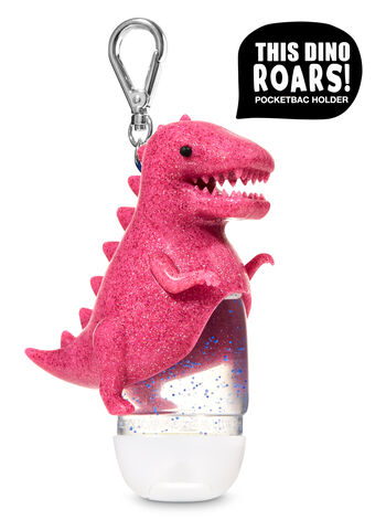 Roaring Pink Dinosaur PocketBac Holder - Bath And Body Works