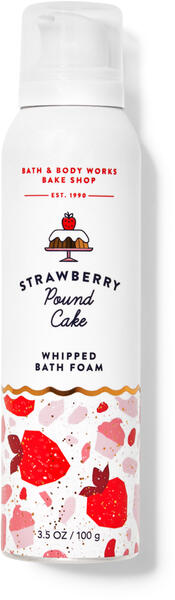 Strawberry Pound Cake Whipped Bath Foam