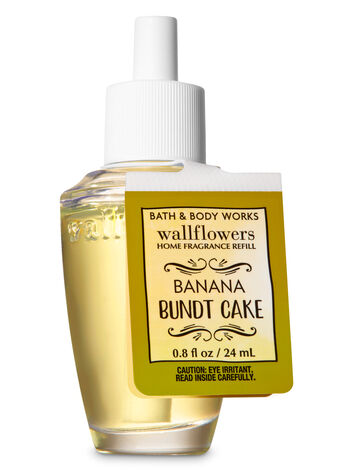 Banana Bundt Cake Wallflowers Fragrance Refill - Bath And Body Works