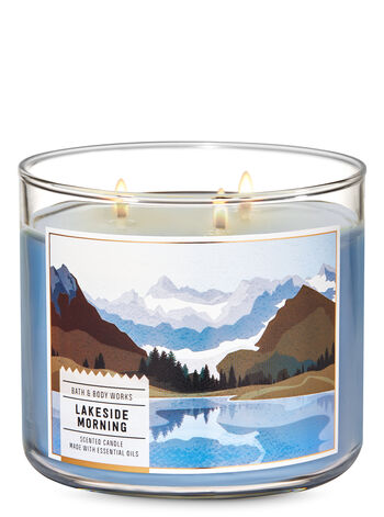 Lakeside Morning 3-Wick Candle - Bath And Body Works