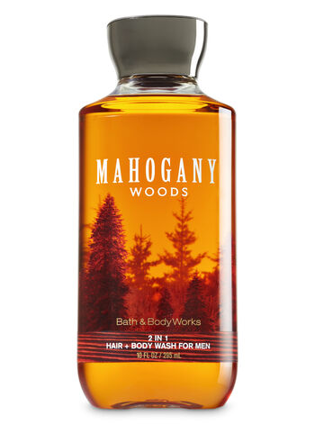 Signature Collection Mahogany Woods 2-in-1 Hair + Body Wash - Bath And Body Works