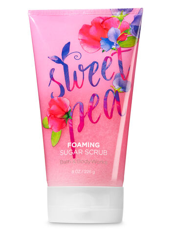 Signature Collection Sweet Pea Foaming Sugar Scrub - Bath And Body Works