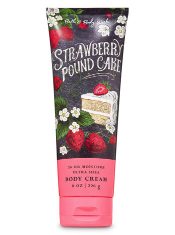 Strawberry Pound Cake Ultra Shea Body Cream - Bath And Body Works