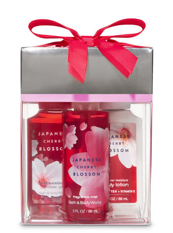 Japanese Cherry Blossom Mini Box Gift Set