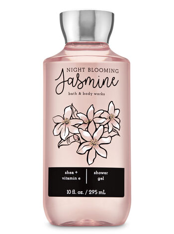 Night Blooming Jasmine Shower Gel - Bath And Body Works