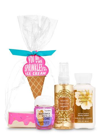 Warm Vanilla Sugar Ice Cream Mini Gift Set - Bath And Body Works