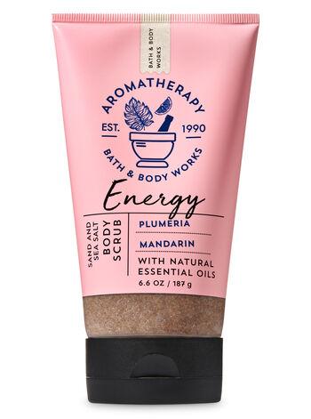 Aromatherapy Plumeria Mandarin Sand & Sea Salt Body Scrub - Bath And Body Works