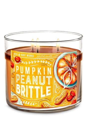 Pumpkin Peanut Brittle 3-Wick Candle