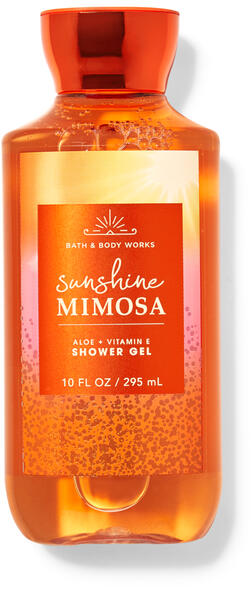 Sunshine Mimosa Shower Gel