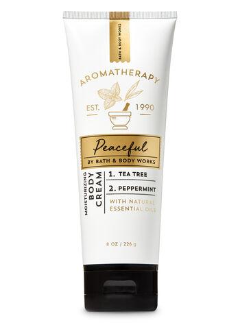 Aromatherapy Tea Tree Peppermint Body Cream - Bath And Body Works