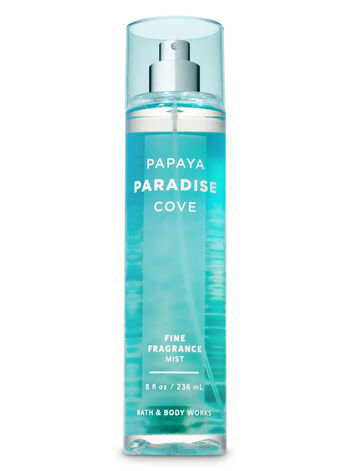 Signature Collection Papaya Paradise Cove Fine Fragrance Mist - Bath And Body Works