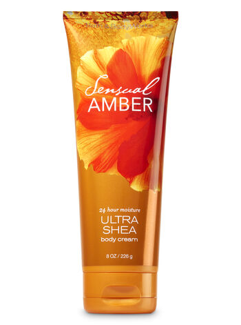 Signature Collection Sensual Amber Ultra Shea Body Cream - Bath And Body Works