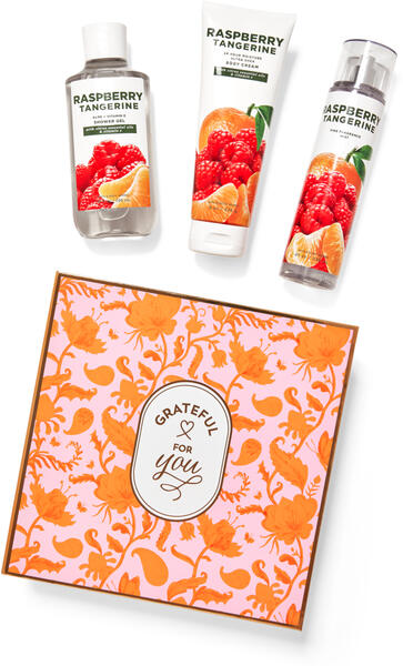 Raspberry Tangerine Gift Box Set