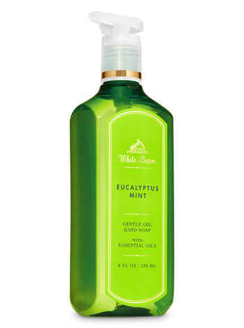White Barn Eucalyptus Mint Gentle Gel Hand Soap - Bath And Body Works