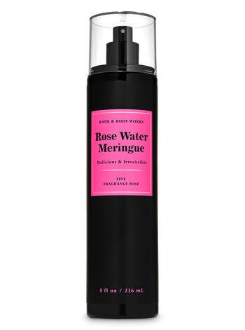 Rose Water Meringue Fine Fragrance Mist - Bath And Body Works