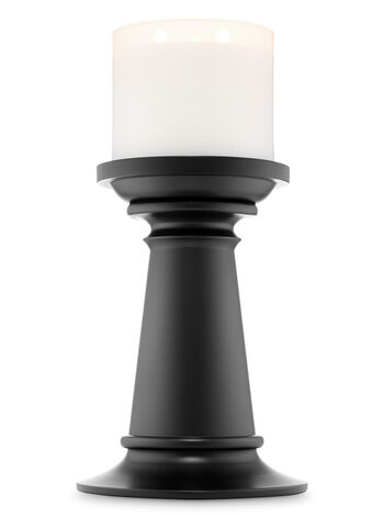 Tall Black Pedestal 3-Wick Candle Holder - Bath And Body Works