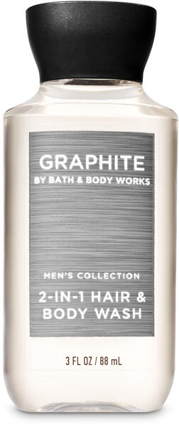 Graphite Travel Size 2-in-1 Hair + Body Wash