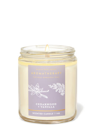 Cedarwood Vanilla Single Wick Candle