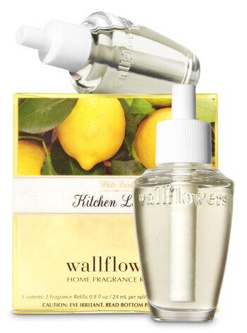 Kitchen Lemon Wallflowers Refills, 2-Pack - Bath And Body Works