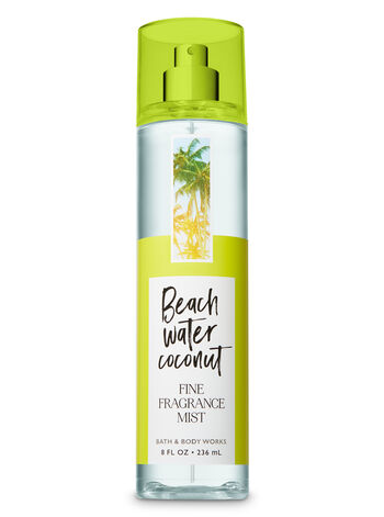 Signature Collection Beach Water Coconut Fine Fragrance Mist - Bath And Body Works
