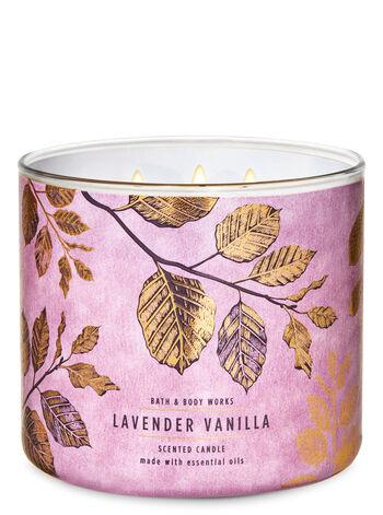 Lavender Vanilla 3-Wick Candle
