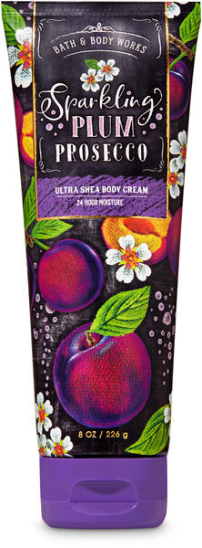 Sparkling Plum Prosecco Ultra Shea Body Cream