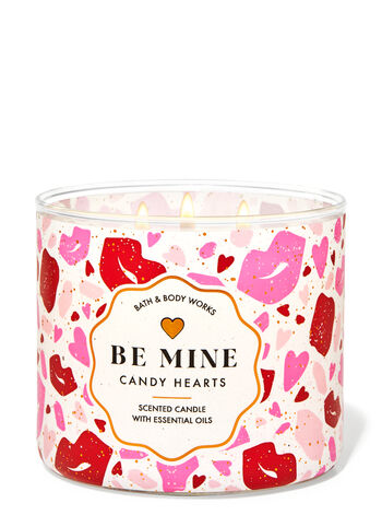 Candy Hearts 3-Wick Candle