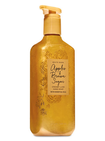 Apples & Brown Sugar Creamy Luxe Hand Soap - Bath And Body Works