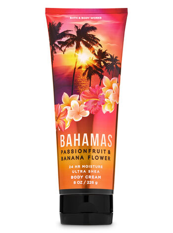 Bahamas Passionfruit & Banana Flower Ultra Shea Body Cream - Bath And Body Works