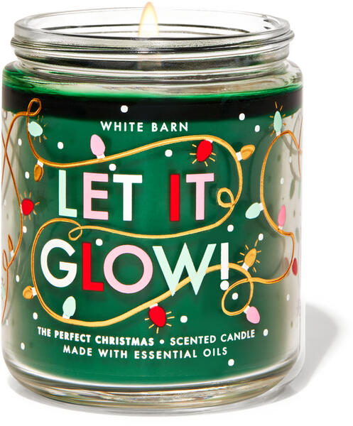 The Perfect Christmas Single Wick Candle