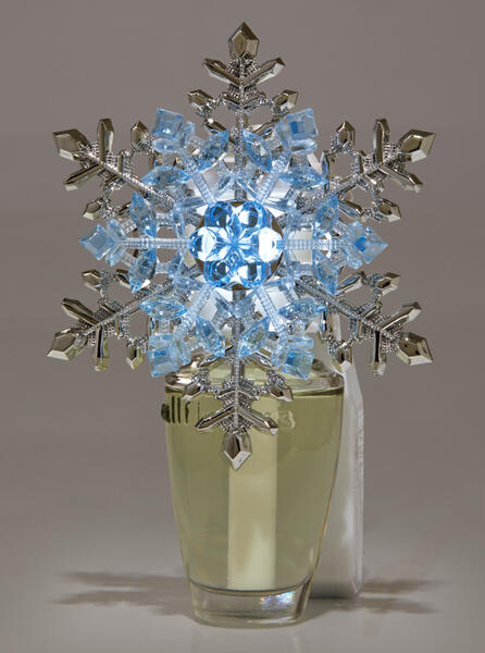 Crystal Snowflake Nightlight Wallflowers Fragrance Plug