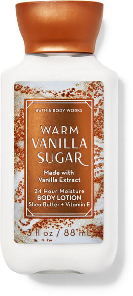 Warm Vanilla Sugar Travel Size Body Lotion